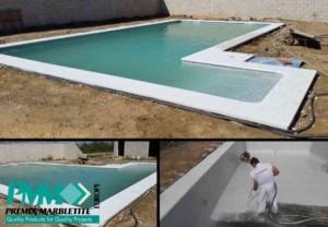 Rehabilitación de piscinas - Premix Marbletite
